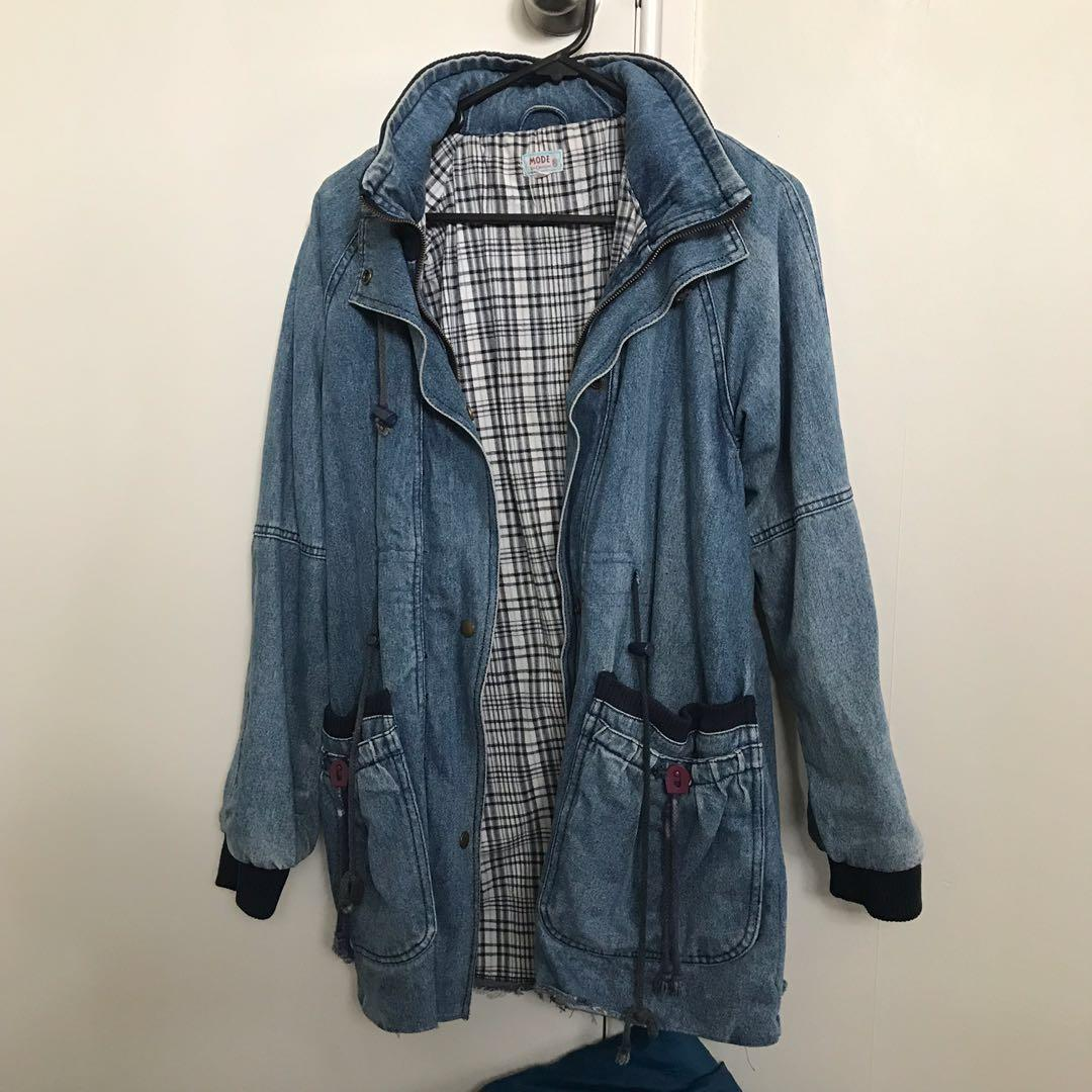 Denim Outerwear Jacket