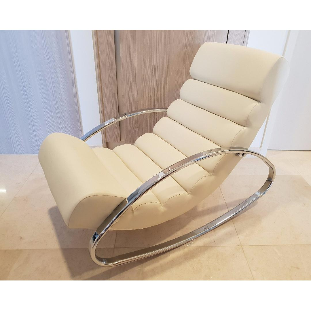 size 40 266b9 4fa45 Designer rocking chair, Furniture, Tables & Chairs on Carousell