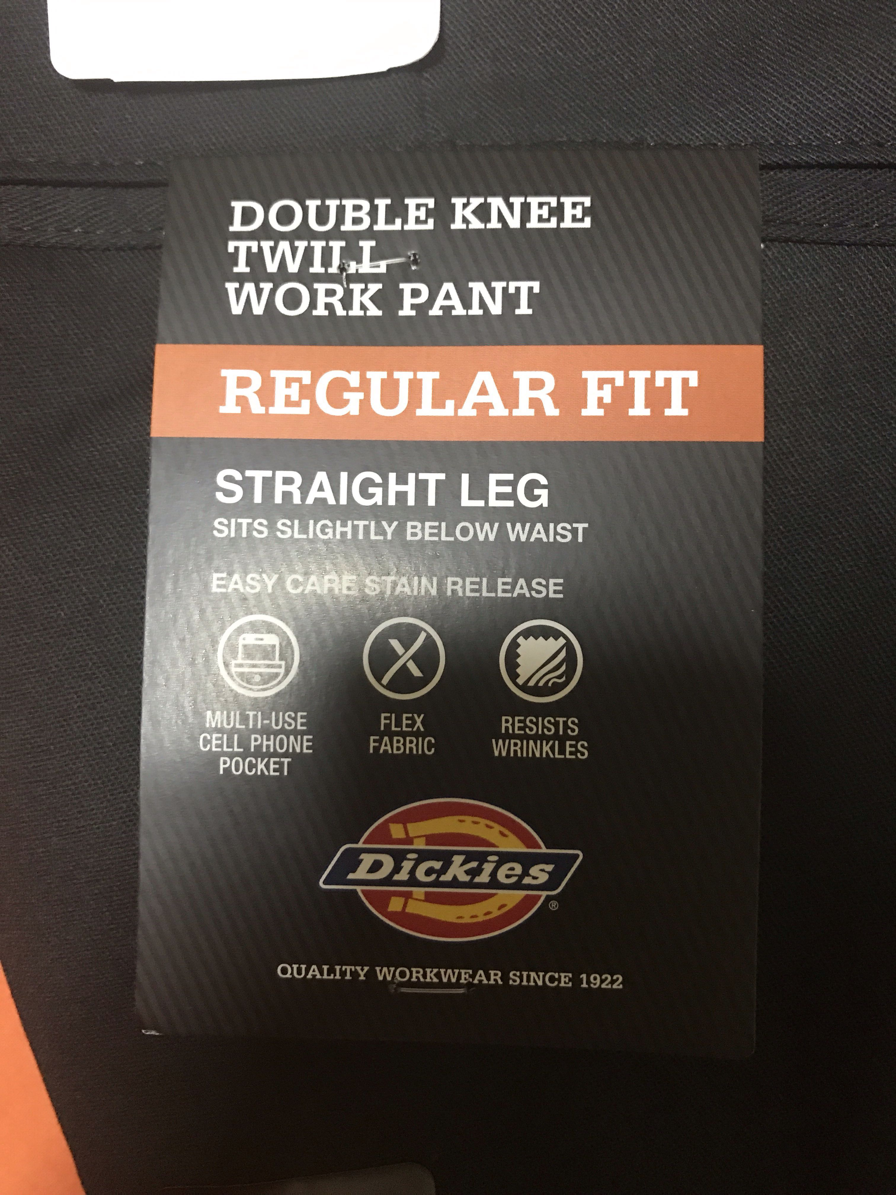 77e320ee Dickies Double Knee Regular Fit, Men's Fashion, Clothes, Bottoms on ...
