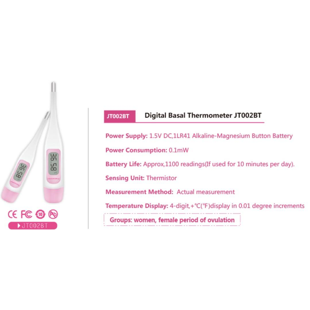 Female Digital Basal Thermometer