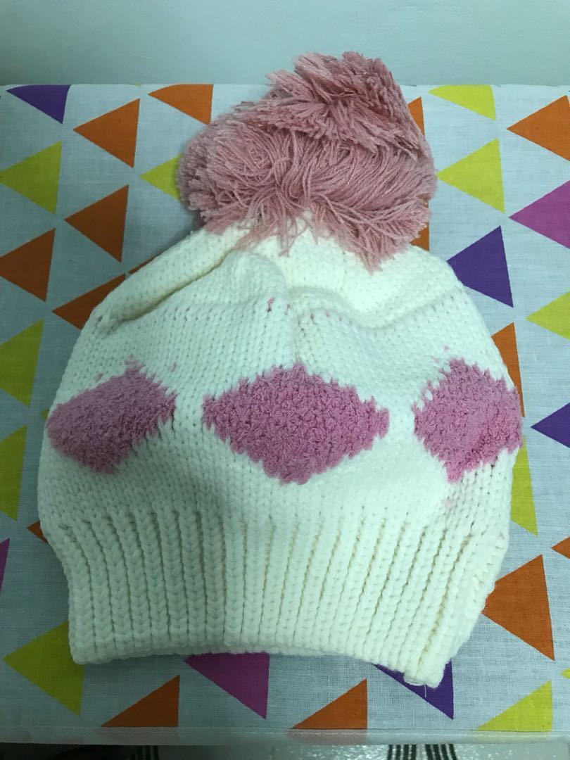 6940a053f0f Female winter hat with big Pom Pom