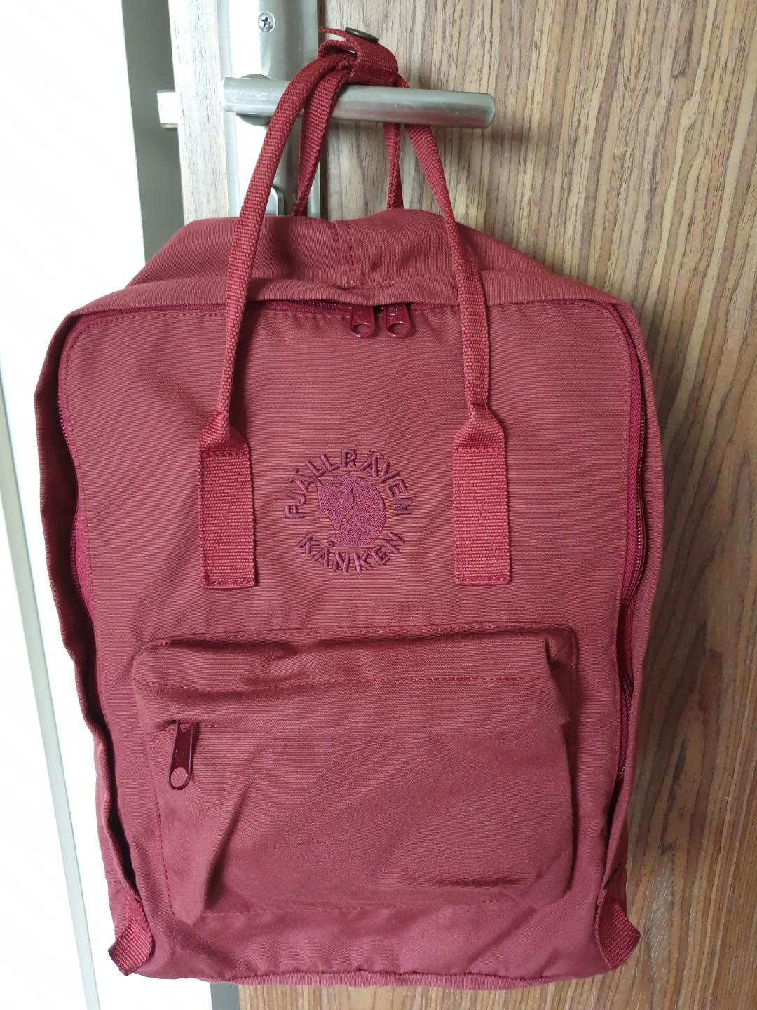 various colors new style vast selection Special Edition: Fjallraven Kanken Re-Kanken Ox Red Backpack ...