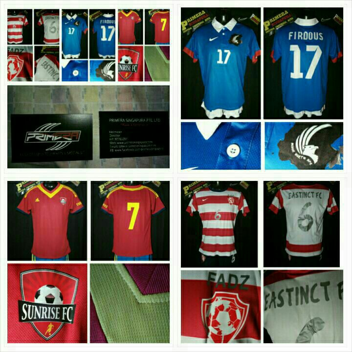 51853d142cc Football Jerseys for weekend teams. design your own, Sports, Sports Apparel  on Carousell