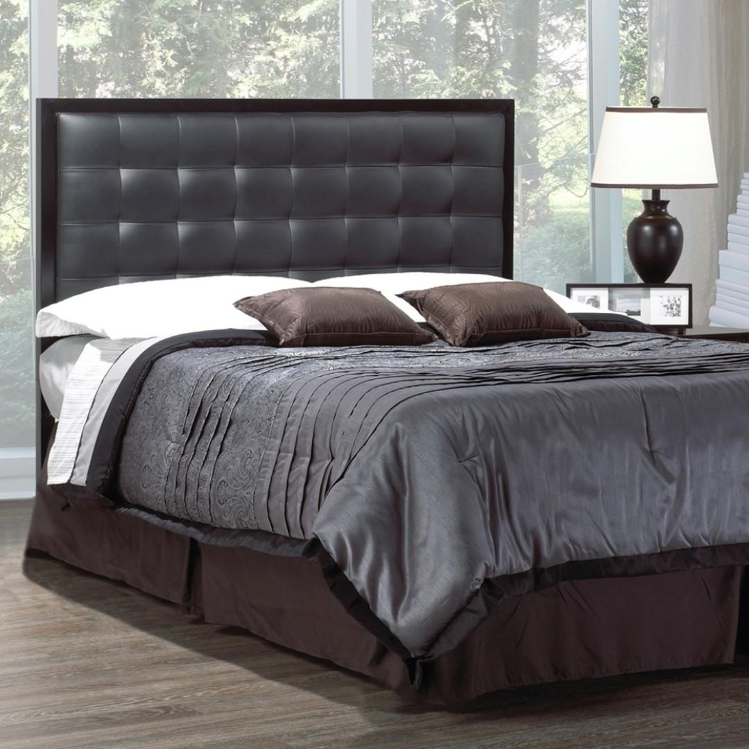 Free Delivery and Assembly - Brand New from Manufacturer -  Leather Chess Bed