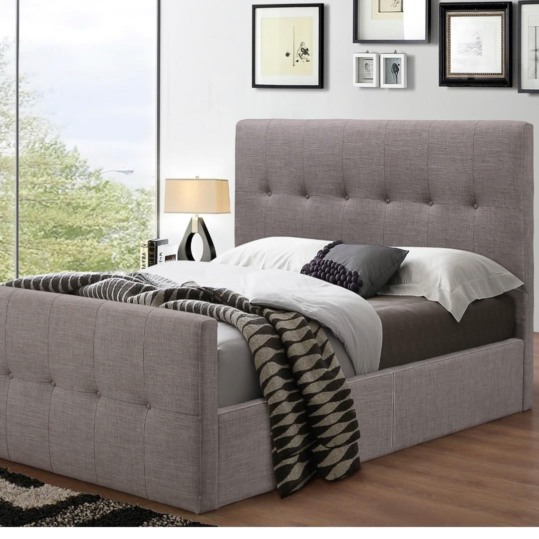 Free Delivery and Assembly -  Brand New from Manufacturer - SOHO LUX modern Rialto Bed