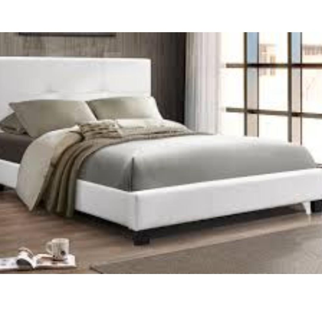 FREE Delivery and Assembly -  Espresso Creme Bed - Ready for you to Enjoy BRAND NEW