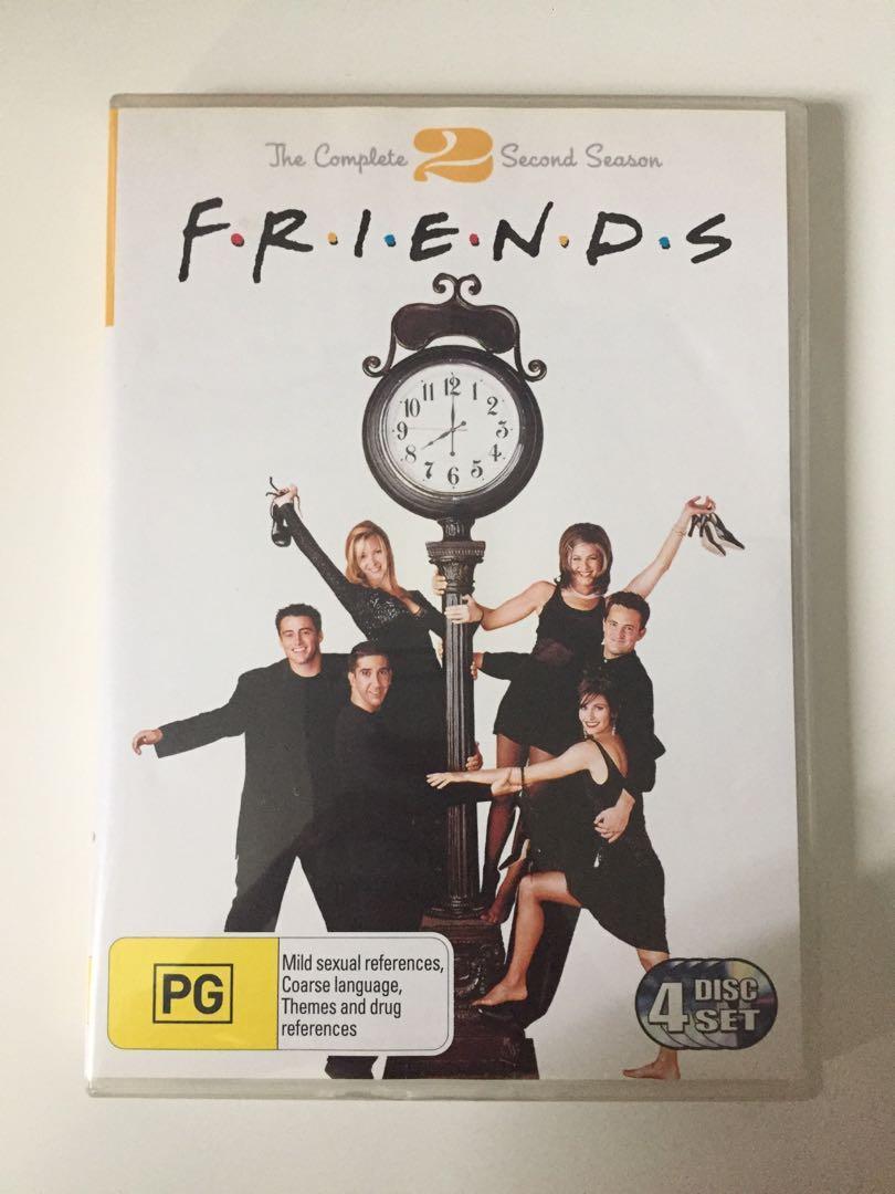 Friends: The Complete Second Season DVD 4-Disc Set