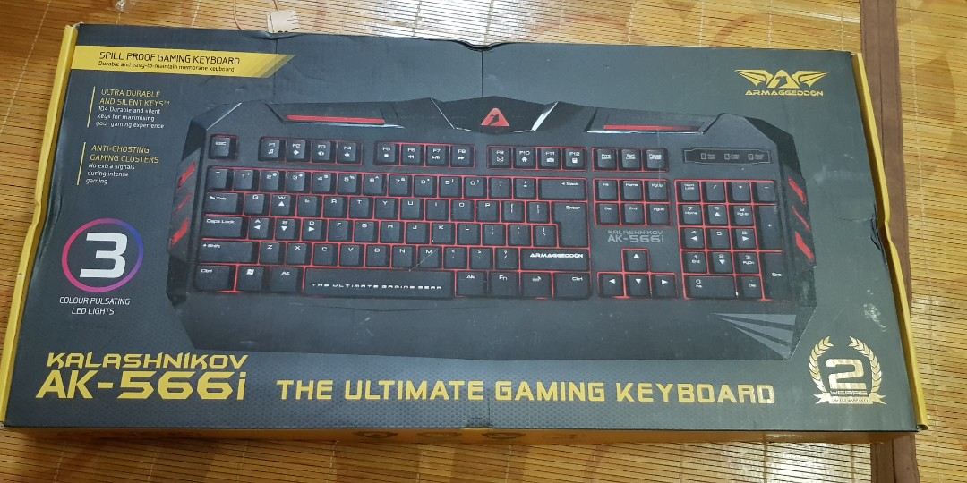 776b4e556cf Gaming Keyboard, Electronics, Computer Parts & Accessories on Carousell
