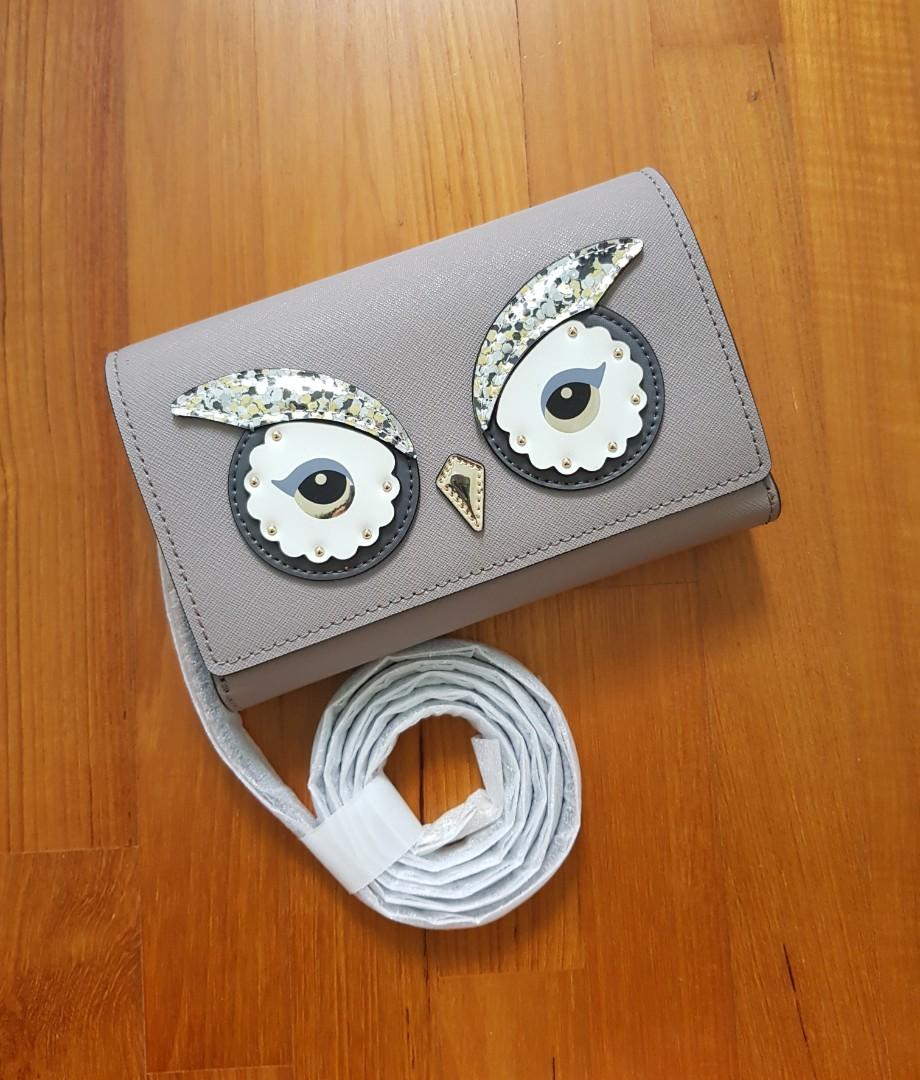 5084d2f439dff Kate Spade Owl Summer Star Bright Cityscape Crossbody Bag Clutch ...