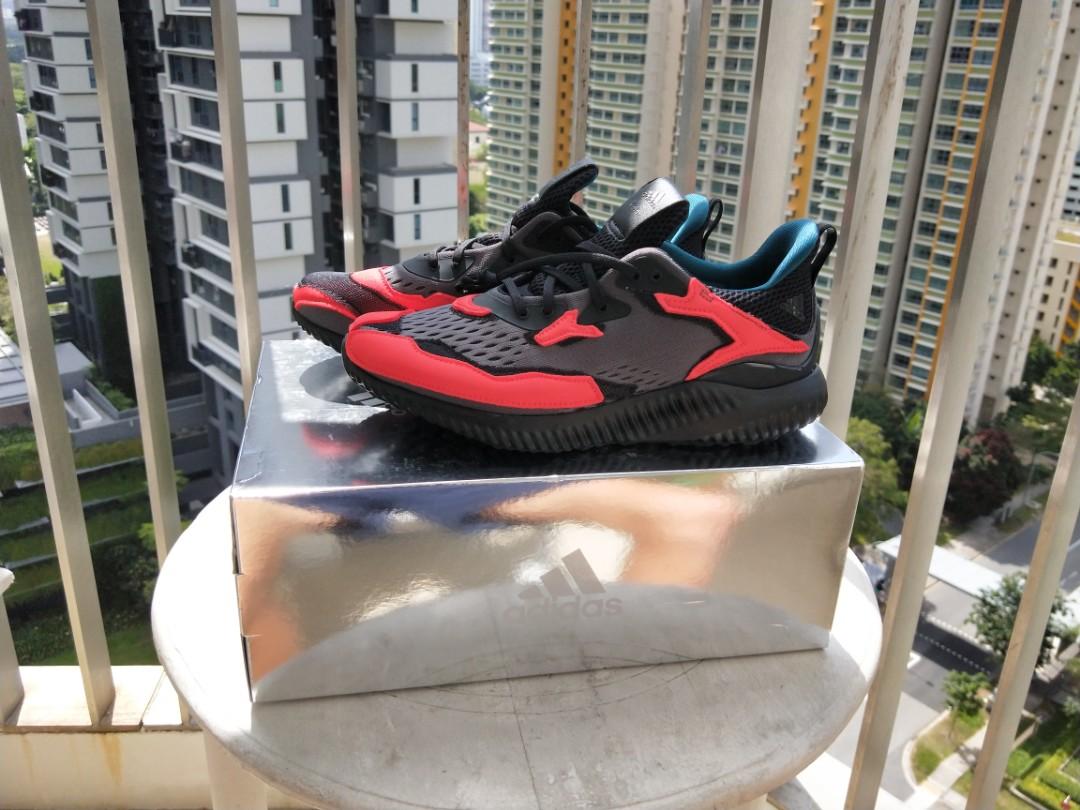 ed5cf8ff8f0c69 kolor x Adidas Alphabounce (Black