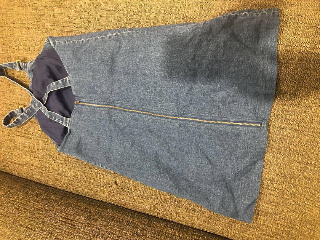 Kookai denim dress size 12