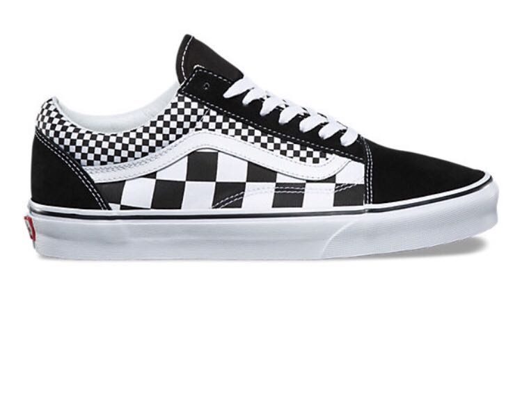 1e0d5595538a LF US10.5 Mix Checkered Old Skool Vans