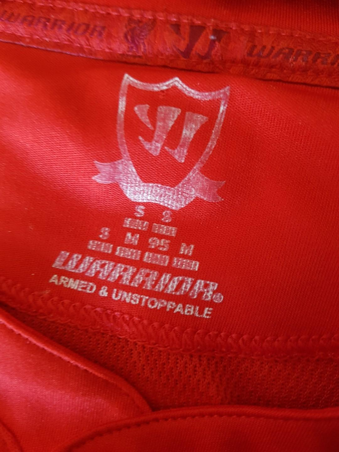 Liverpool Warrior jersey. Size S
