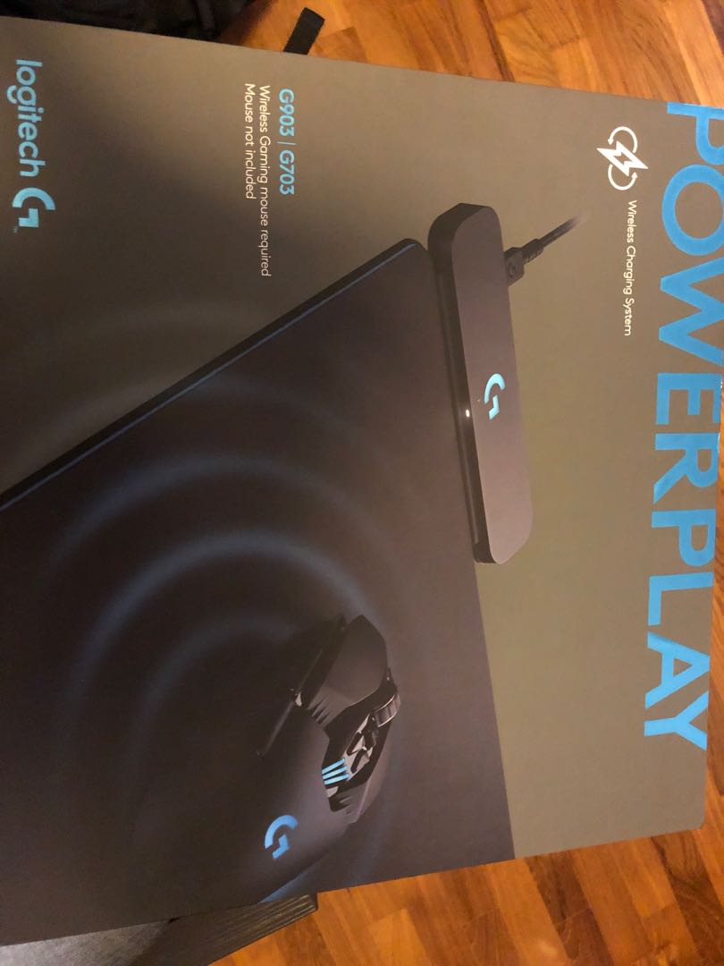 2eb4c0be707 Logitech POWERPLAY wireless charging mousepad, Electronics, Others ...