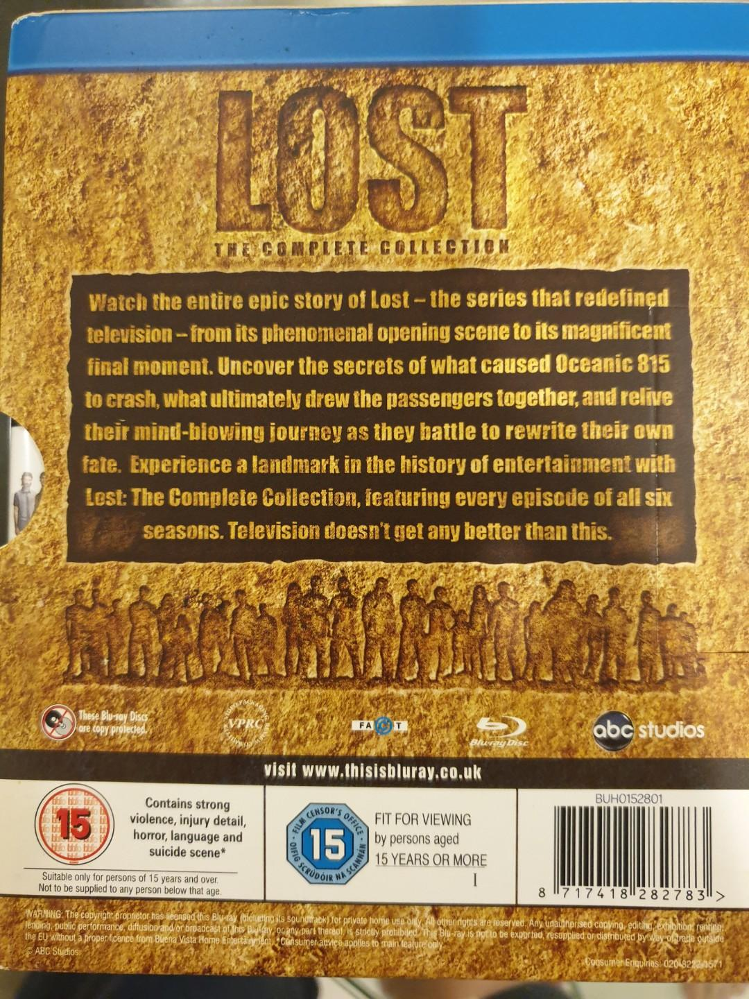 Lost - The Complete Season 1-6 Blu-ray