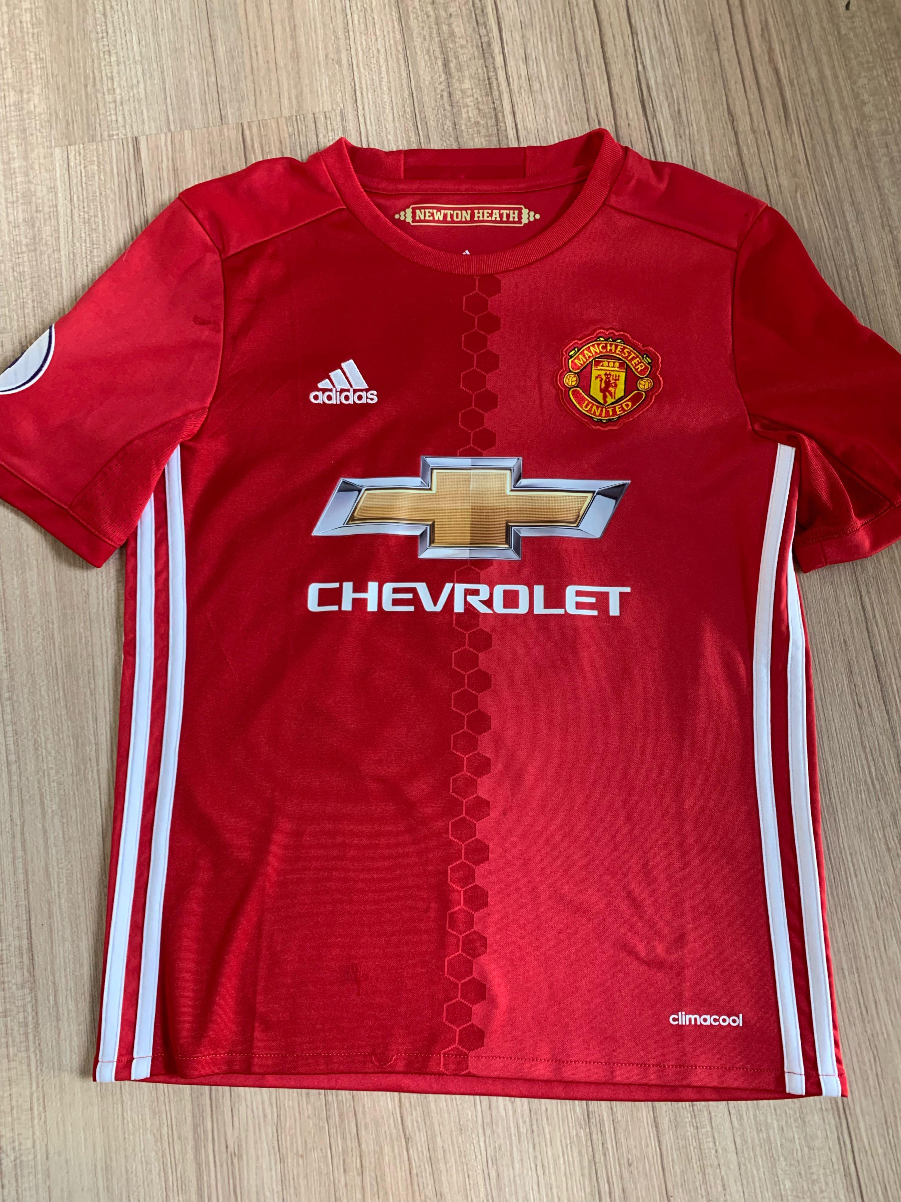 new product de2fc 07d00 Manchester United 2016/17 jersey, Sports, Sports Apparel on ...