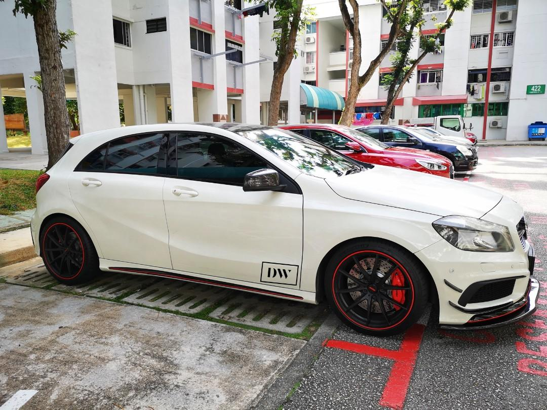 Mercedes Benz W176 A Class Amg A45 Bodykit Pp Taiwan On Carousell