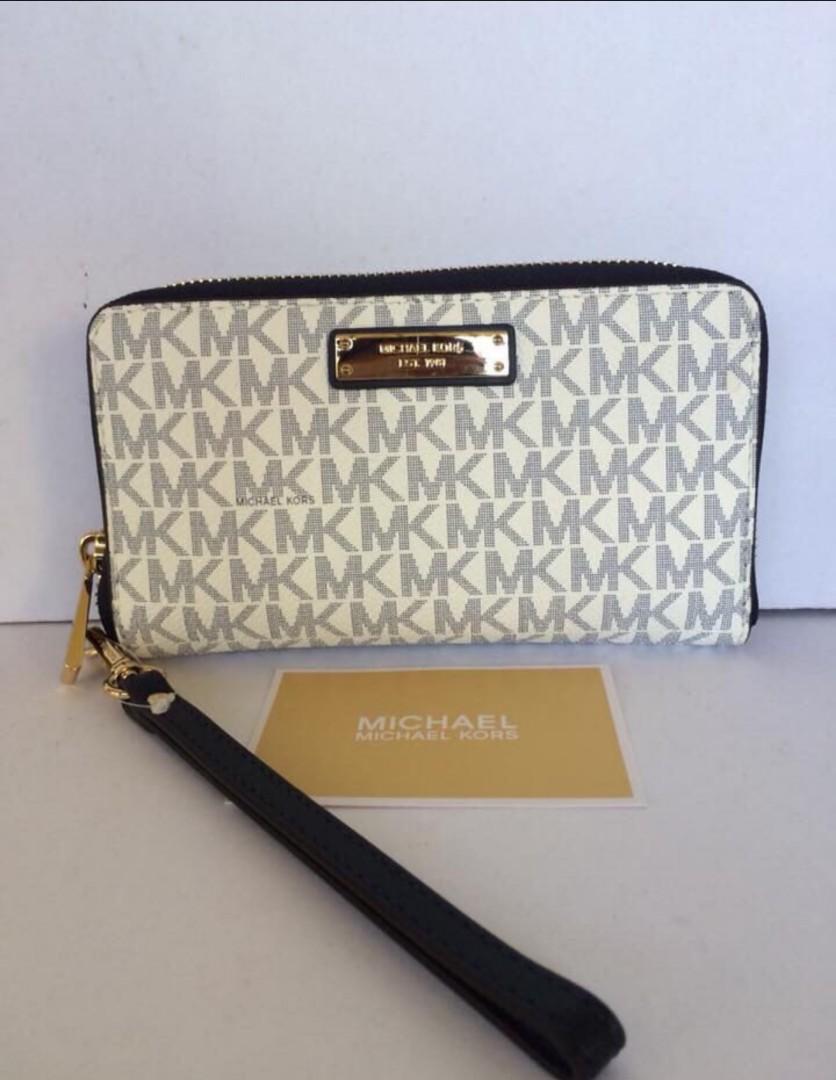456c898f49da10 Michael Kors Wristlet / Phone Case / Wallet, Women's Fashion, Bags ...