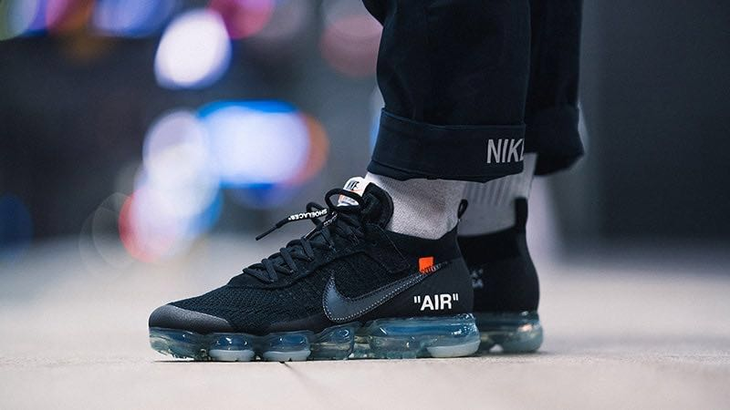 36164485d11 OFF- WHITE x Nike VaporMax 2.0 Black