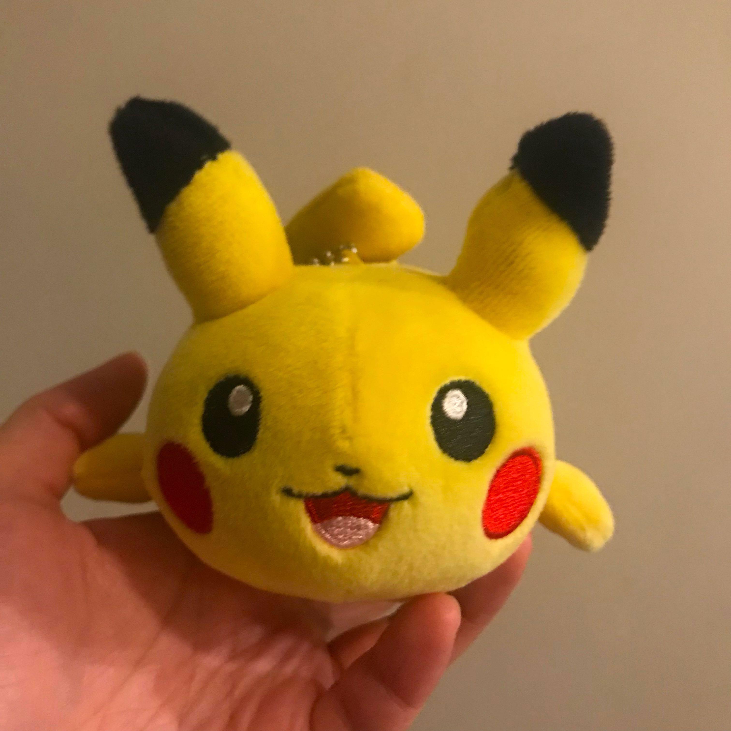 Pikachu Mochi Plush Toy from Japan