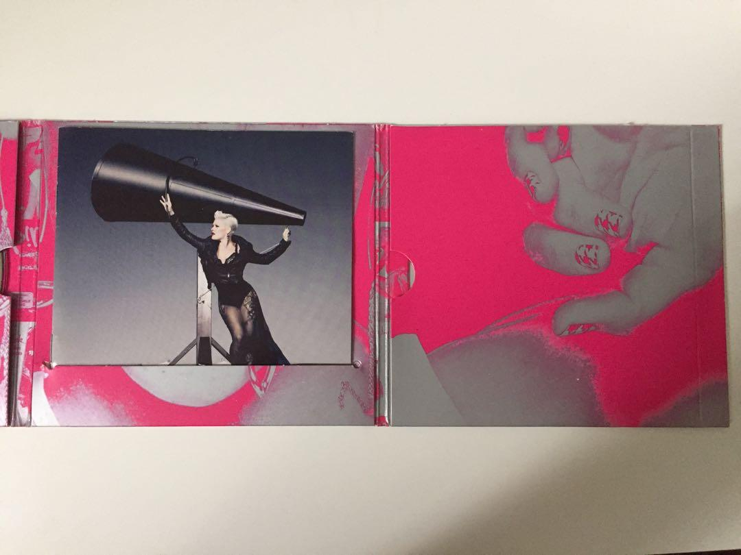 P!nk Greatest Hits...So Far!!! 2-Disc CD/DVD Album