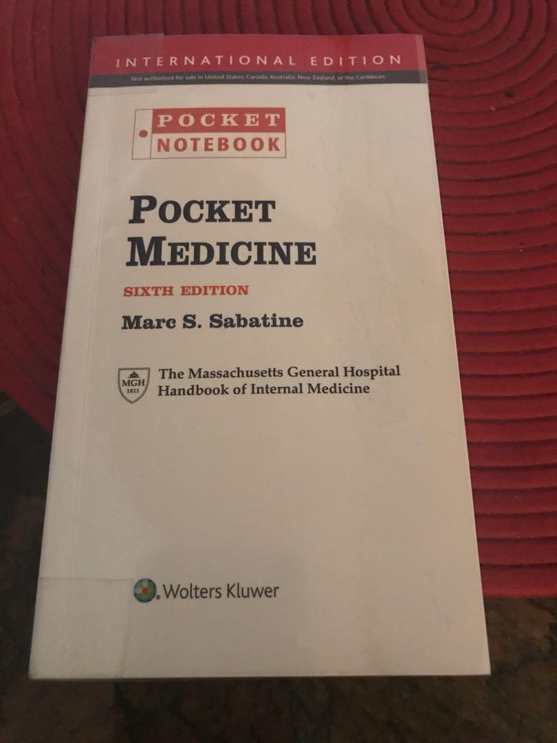 Pocket Medicine Sixth Edition, Books & Stationery, Textbooks