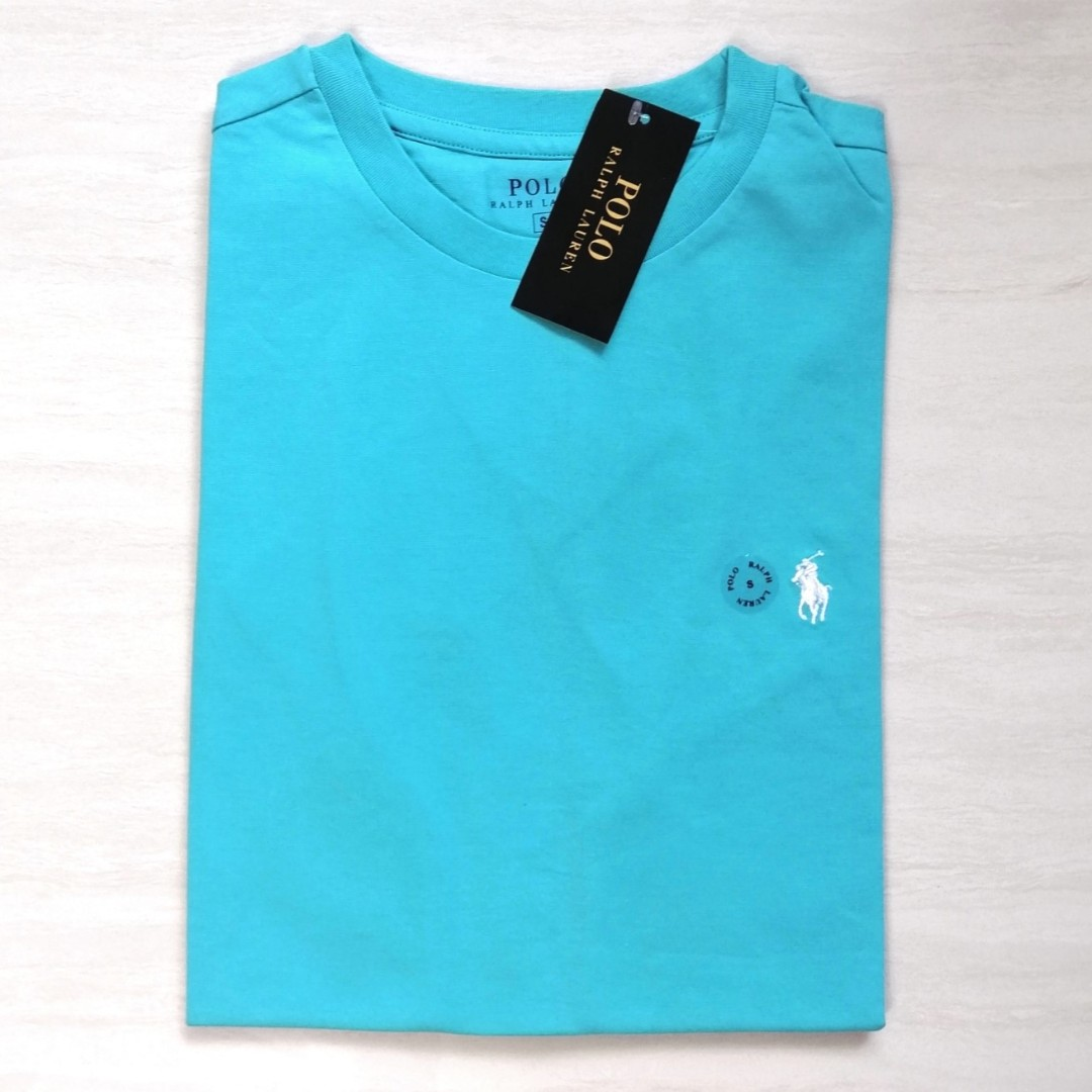 bc201faa3 Polo Ralph Lauren Custom Fit T Shirt Sea Wave, Men's Fashion ...