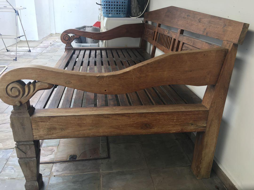 Pre Loved Sitting Outdoor Bed Furniture Tables Chairs On Carousell