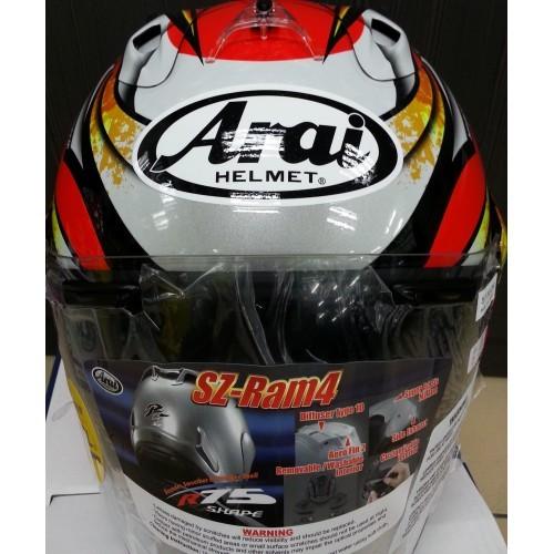 0534ba02 Preorder Authentic Arai Helmet Sz Ram 4 Nakagami, Motorbikes ...