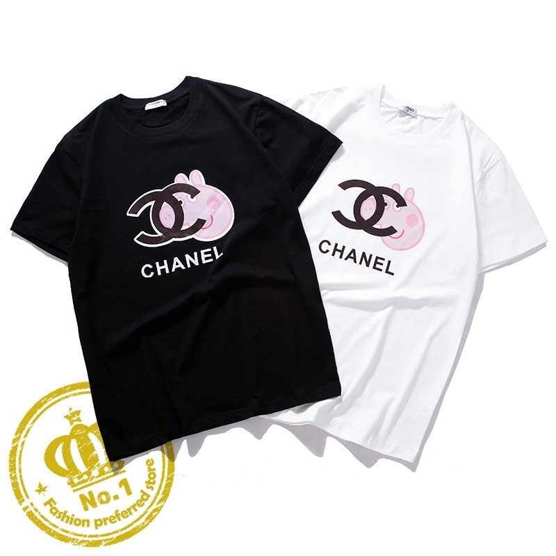 fc19401c2 Pre-order] Chanel X peppa pig t-shirt, Women's Fashion, Clothes ...
