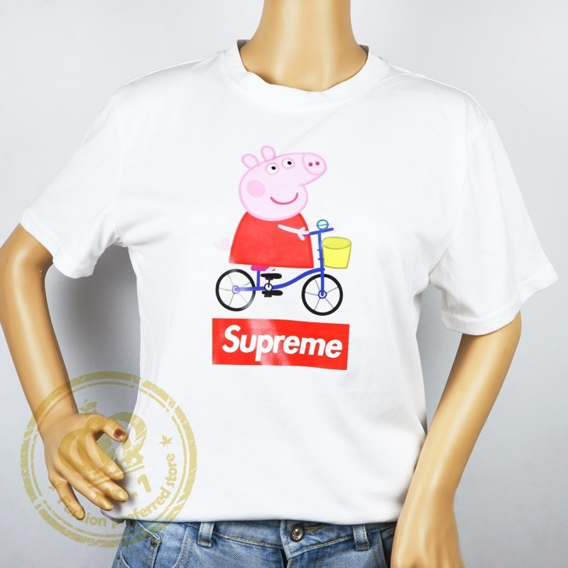 da4429cb Pre-order] Supreme X peppa pig t-shirt, Women's Fashion, Clothes ...