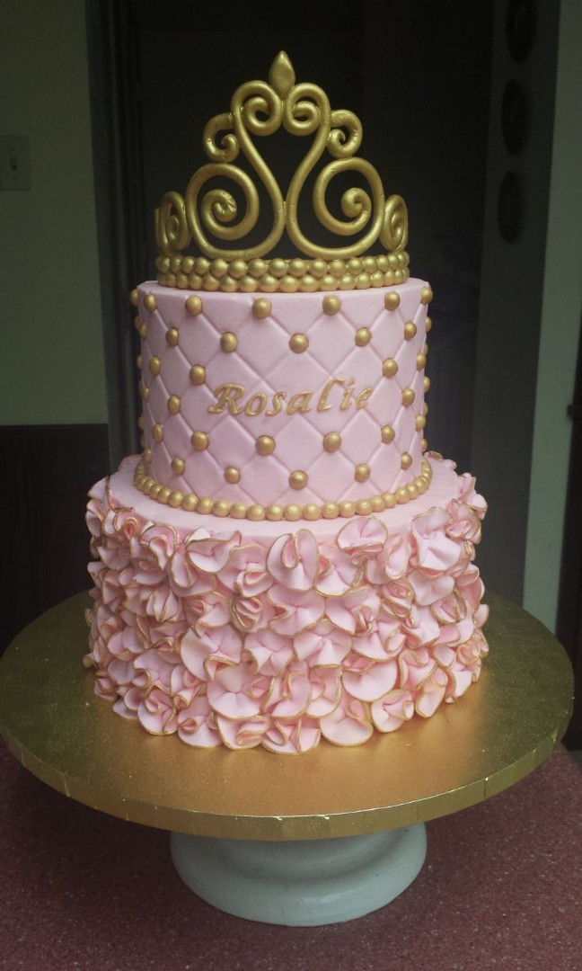 Princess 21st Birthday Cake Food Drinks Baked Goods On Carousell