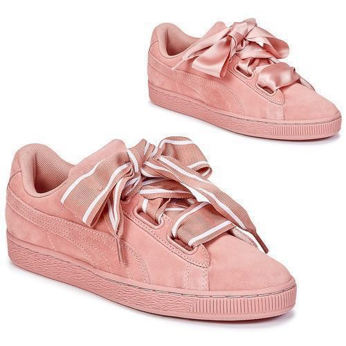 promo code 25a6b 27b03 REDUCED! PUMA BASKET HEART UK 5, Women s Fashion, Shoes, Sneakers on ...