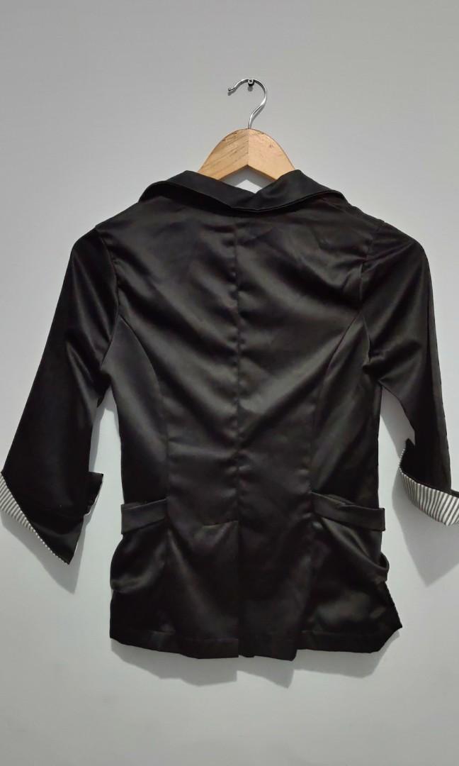 Rompi jas wanita glossy - Top outwear
