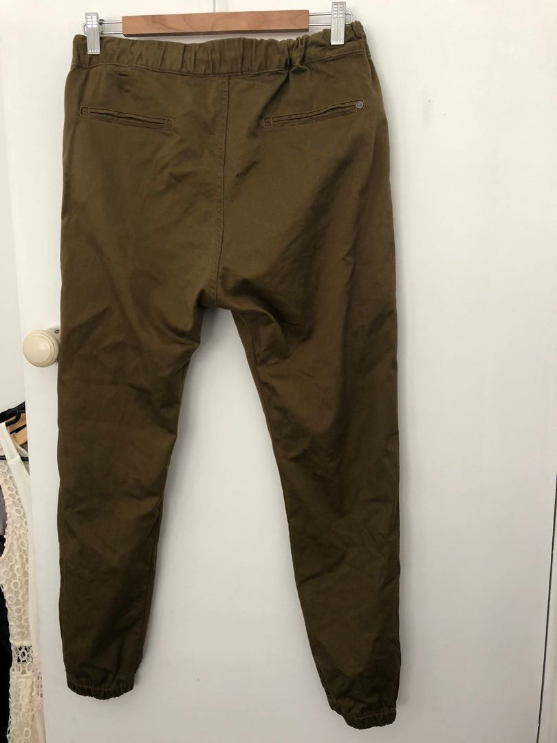 Roxy size small cargo pant jeans relaxed fit boho 8 10