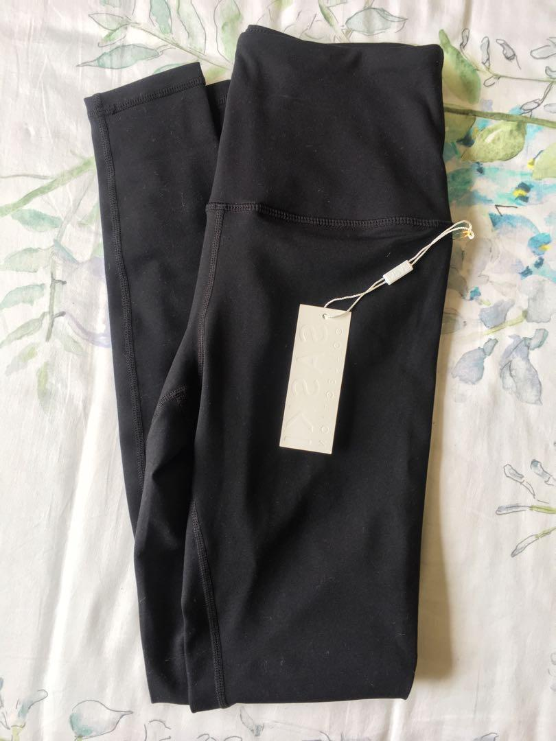 Saski Collection Black High Waist Leggings