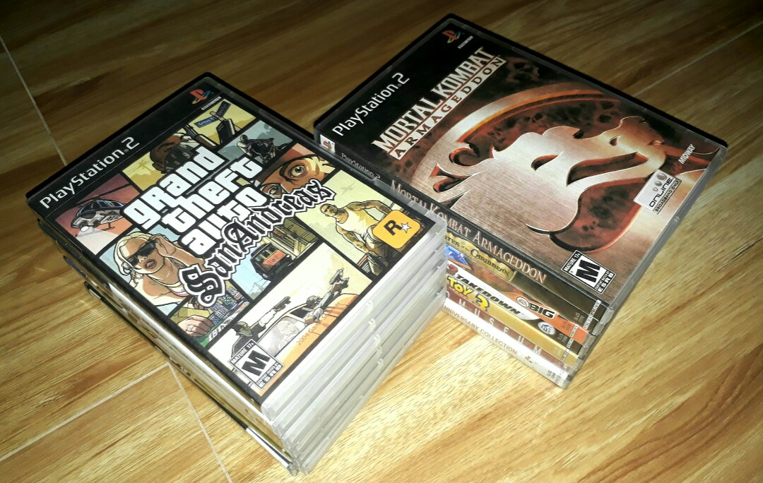 Selling All PS2 Games on Carousell