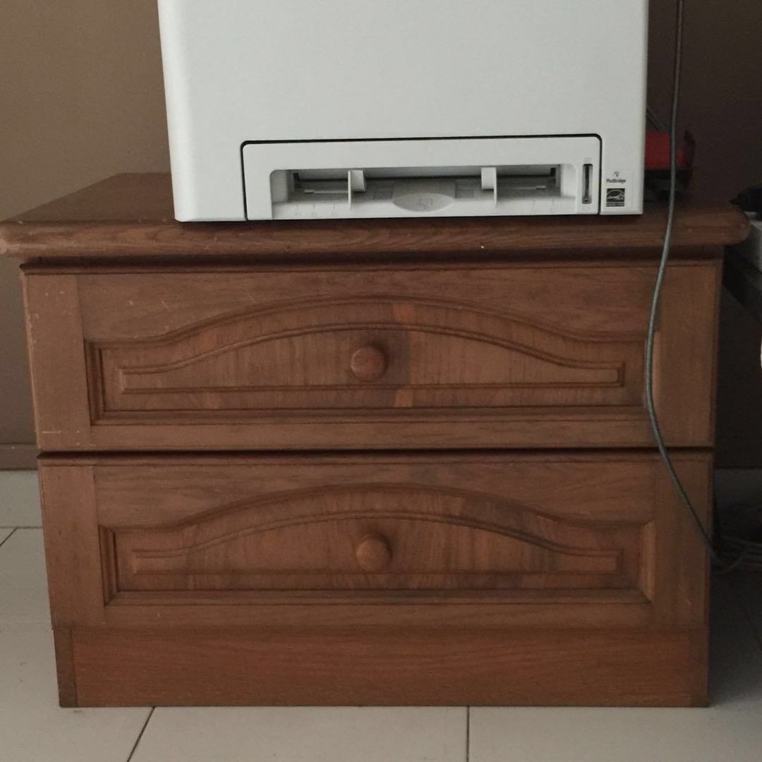 Solid Teak Wood Bedside Table Springcleaningandcarousell50