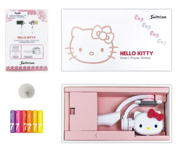 SwiftCam Hello Kitty Smartphone Gimbal (Officially Licensed, BNIB)