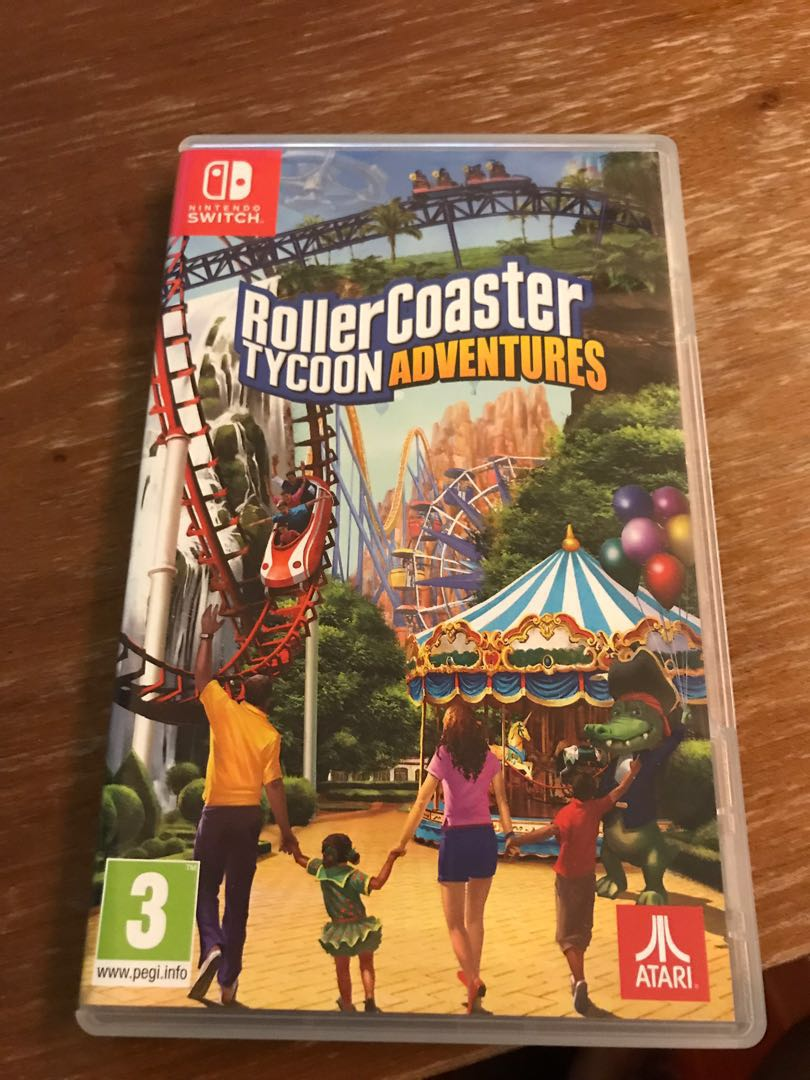 Switch game - Roller Coaster Tycoon Adventures