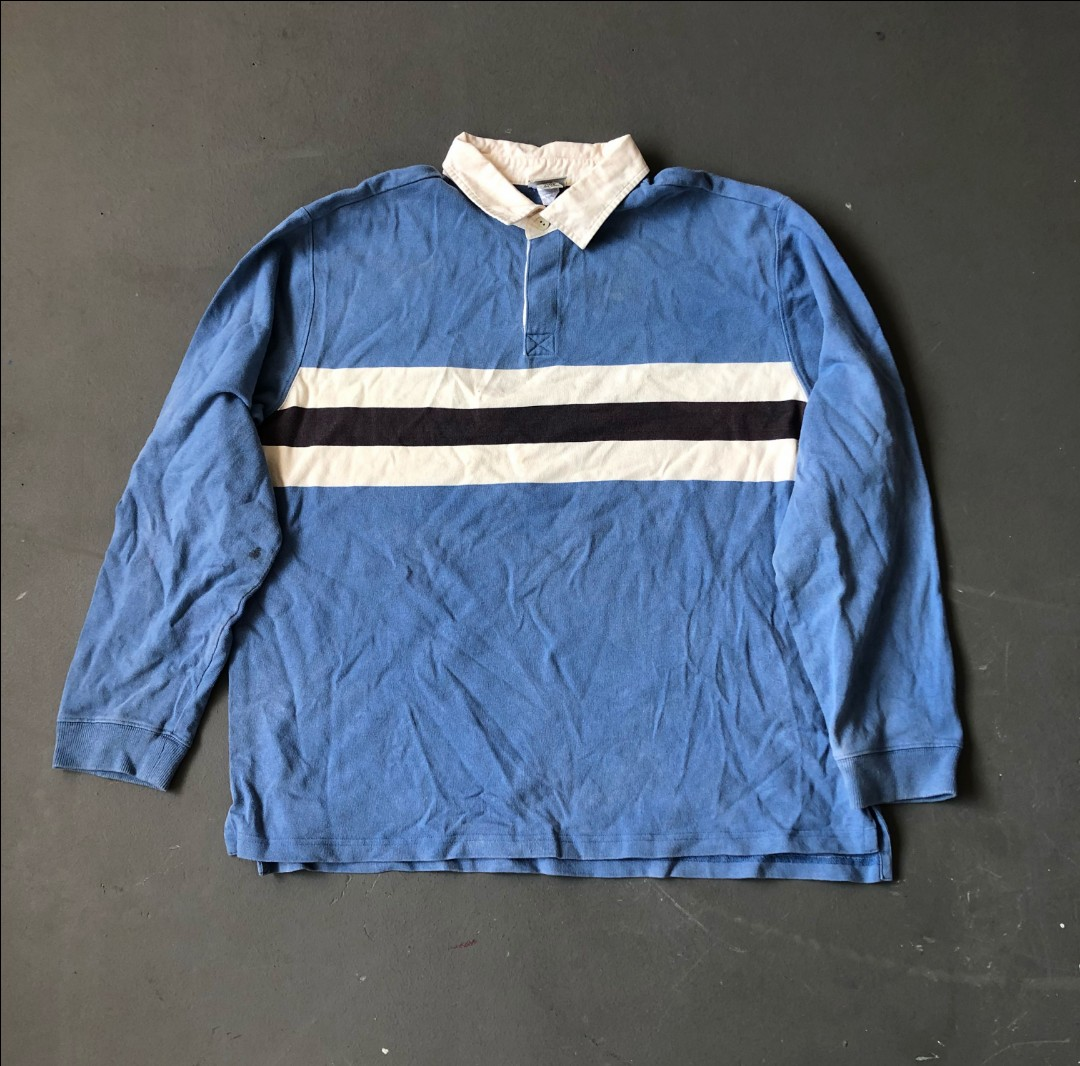 9bafd8b6 TTC103] Vintage L.L.Bean Rugby Polo, Men's Fashion, Clothes, Tops on ...
