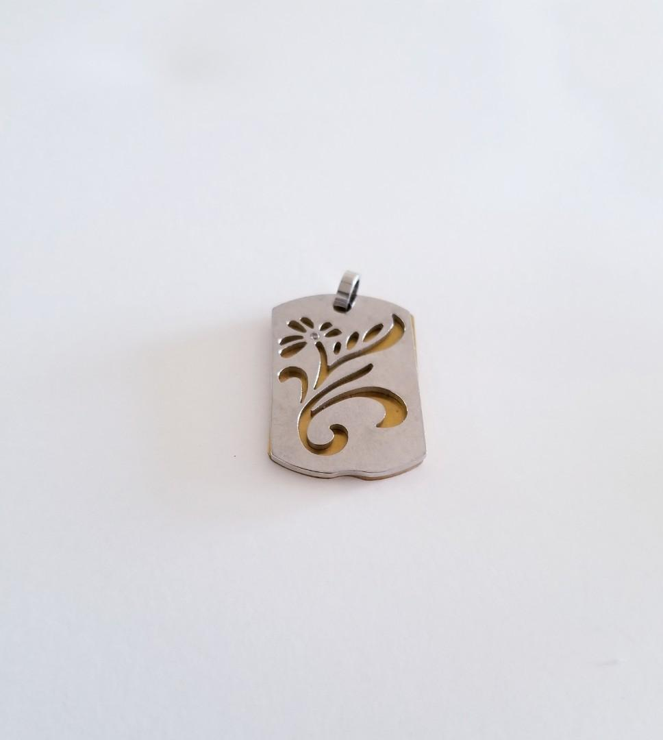 VALENTINES LOVE FOR ALL Twelve Pendants Silver Plated