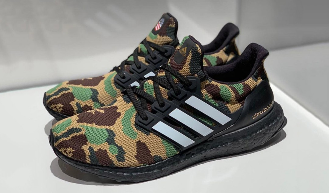 5b2bba824bb  US 9  BNIB Adidas Bape x Ultraboost