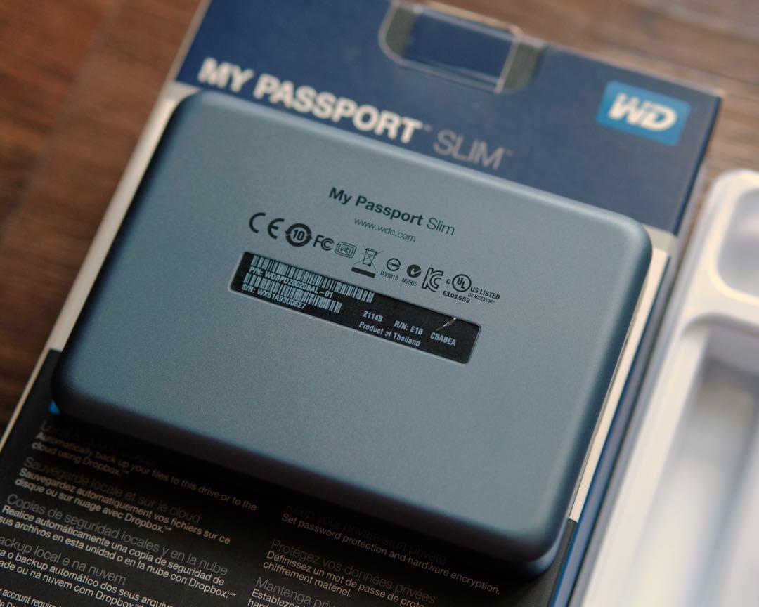 TipidPC com - Western Digital WD My Passport Slim 2TB Portable