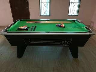 7ft British Pool Table
