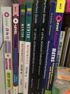 🚚 Assorted O' Level Assessment Books