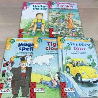 LADYBIRD Level 1 and 2 children's books