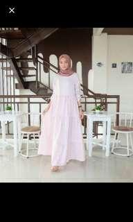Dress baby pink