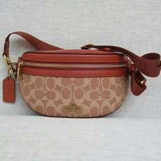 Coach Signature Classic Belt Bag