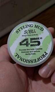 45度 髮泥